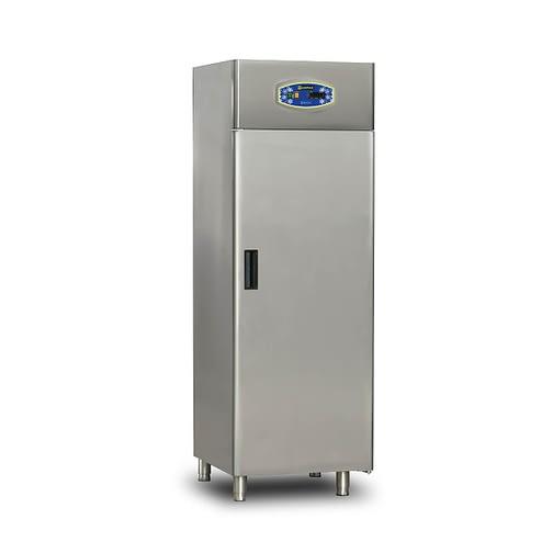 paslanmaz dik tip tek kapılı buzdolabı