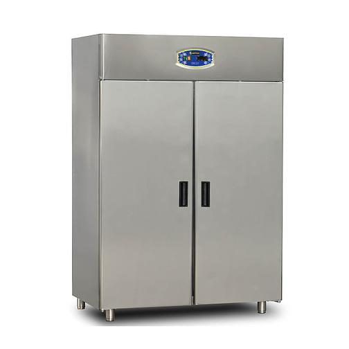 paslanmaz dik tip iki kapılı buzdolabı